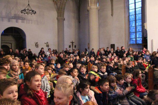 Weihnachtssingen in der Friedenskirche
